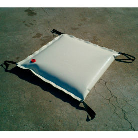 "Husky Portable Drain Cover 22 oz. Vinyl, 24"" x 24"", Green, HDC-22v22-GN- Pkg Qty 1"