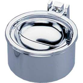 "Impact® Deluxe Hinged Metal Wall Ash Tray - 4"", 4004 - Pkg Qty 2"