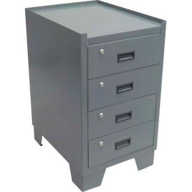 "Jamco Heavy Duty Narrow Cabinet JS218GP - 4 Drawer, 18""W x 24""D x 33""H"