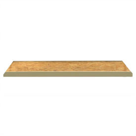 "JBX System 800 Extra OSB Wood Decking for Boltless Wide-Span Shelving - 96""Wx24""D"
