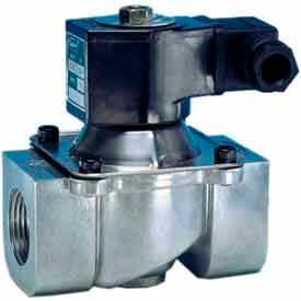 """Jefferson Valves, 1 1/4"""" 2 Way Solenoid Valve For Fuel Gas And Other Gases 24V DC"""