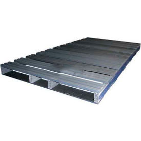 Extruded Recycled Plastic Pallet, 96x48, 4-Way Entry
