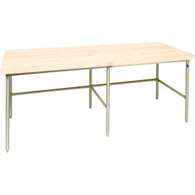 Bakers Production Table - Stainless Steel Frame 60X36- Pkg Qty 1