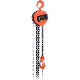 JET Tools 2 ton 10 'Lift série VCH treuil à chaîne standard Duty