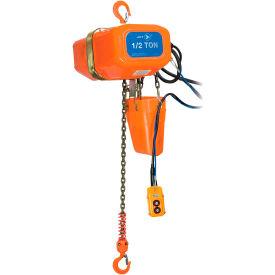 JET Tools 1/2 ton 15 'Lift 230/460V 3PH treuil à chaîne électrique robuste