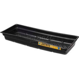 Justrite® 28715 12 Gallon EcoPolyBlend™ Spill Tray 46 x 16