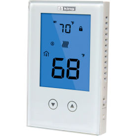King Electric Line Voltage Non-Programmable Thermostat