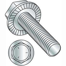 Flange Bolts - Indented Hex Washer - Serrated
