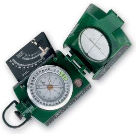Konus 4075 Konustar-11 Metal Compass, Liquid Filled With Clinometer, Green