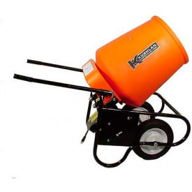 Kushlan Products 350W Fully Assembled Wheelbarrow Cement Mixer
