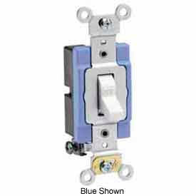 Leviton 1201-2R 15A, 120/277V, Single-Pole AC Quiet Switch, Red