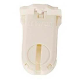 Leviton 23660-SWP Fluorescent Lampholder, T8/T12 (G13 base) Medium Bi-Pin