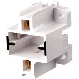Leviton 26720-500 Gx23, Gx23-2 Base, 2-Pin, Compact Fluorescent Lampholder