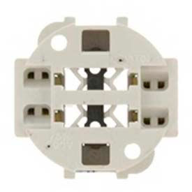 Leviton 26725-4A6 75W-600V, Vertical Screw Down with Round Base For 70W Lamps