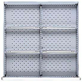 """SC Drawer Layout, 6 Compartments 11.5""""W x 3"""" H"""