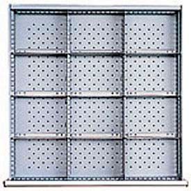 """SC Drawer Layout, 12 Compartments 7.5""""W x 3"""" H"""