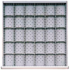 """SC Drawer Layout, 30 Compartments 2"""" H"""