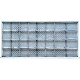 """DW Drawer Layout, 32 Compartments 3"""" H"""