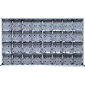 """MW Drawer Layout, 32 Compartments 3"""" H"""