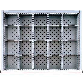 """ST Drawer Layout, 20 Compartments 3"""" H"""