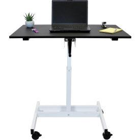 "Luxor Stand Up Desk - Crank Adjustable Height - 23-5/8"""