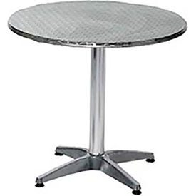 Premier Hospitality Round 32 Inch Stainless Steel Table