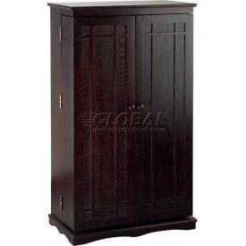 Mission Style Multimedia Storage Cabinets Espresso