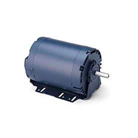 Leeson 113926.00, High Eff., 3 HP, 3450 RPM, 208-230/460V, 56HZ, DP, Resilient Base