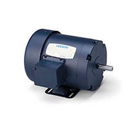 Leeson 170158 60, Premium Eff , 7 5 HP, 3540 RPM, 208-230/460V, 213T, TEFC,  Rigid