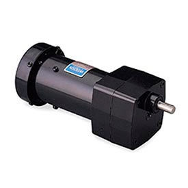 Leeson HP 1125129/00, 1 tr/min, 15V, M28.115, 1 phases, TEFC, PZ, rapport de 60:1, 100 po-lb