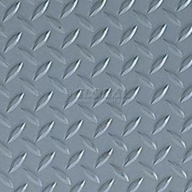 Crown #540 Workers-Delight™ Supreme Deck Plate W/ Zedlan Foam Backing 2'X3' Gray