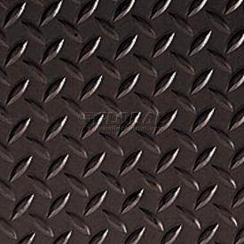 Crown #550 Workers-Delight™ Ultra Deck Plate W/ Zedlan Foam Backing 3'X12' Black