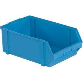 """LEWISBins Plastibox® Stack-Hang Part Bin PB50  - 11-5/8""""W x 18-1/2""""D x 7-1/8""""H / Light Blue - Pkg Qty 6"""