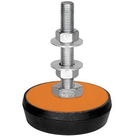 "Neoprene Machinery Leveling Mount - 3-3/8""L x 3-3/8""W x 1""H"