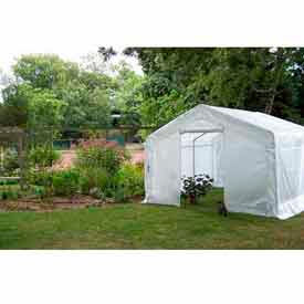 Translucent Greenhouse, Peak Style 12'W x20'L x 8'H