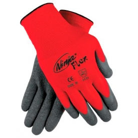 Ninja Flex Latex Coated Palm Gloves, MEMPHIS GLOVE N9680XL, 1