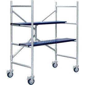 """Metaltech MINI™ Folding Scaffold Step Ladder 42-1/2""""L x 21-1/2""""W x 48-1/4""""H - I-IMAC"""