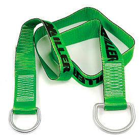 Miller® Cross-Arm Strap, 6-ft., D-rings, 8183/6FTGN