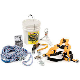 Système de prévention des chutesTitan ReadyRoofer® Miller,BRFK50-Z7/50FT