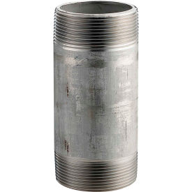 1 In. X 3 In. 304 Stainless Steel Pipe Nipple - 16168 PSI - Sch. 40 - Domestic