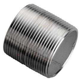 Ss 316/316l Schedule 40 Welded Pipe Nipple 2-1/2xclose Npt Male - Pkg Qty 10