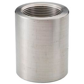 "Ss 316 Barstock Reducing Coupling 1 X 3/4"" Npt Female - Pkg Qty 10"
