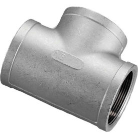 2 In. 304 Stainless Steel Tee - FNPT - Class 150 - 300 PSI - Import