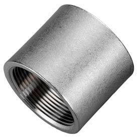 """Iso Ss 304 Cast Pipe Fitting Coupling 3/8"""" Npt Female - Pkg Qty 75"""