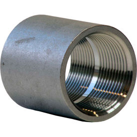 1 In. 304 Stainless Steel Coupling - FNPT - Class 150 - 300 PSI - Import