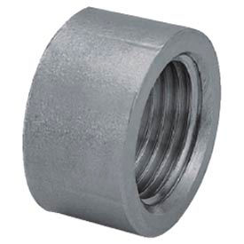 "Iso Ss 304 Cast Pipe Fitting Half Coupling 3"" Npt Female X Plain - Pkg Qty 8"