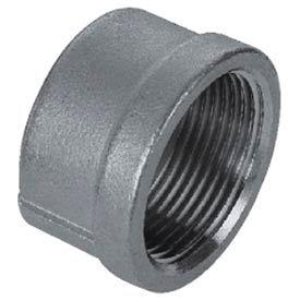 "Iso Ss 304 Cast Pipe Fitting Cap 2-1/2"" Npt Female - Pkg Qty 10"