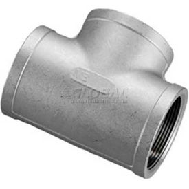 """ISO SS 316 Cast Pipe Fitting Tee 4"""" NPT Female"""