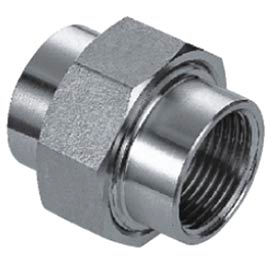 "Iso Ss 316 Cast Pipe Fitting Union 1"" Npt Female - Pkg Qty 10"