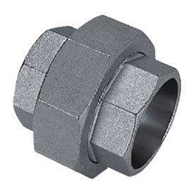 "Mss Ss 304 Cast Pipe Fitting Union 3/8"" Socket Weld Female - Pkg Qty 11"